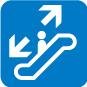 向上及向下電扶梯
